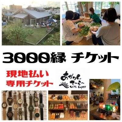 【現地払い専用】3000縁チケット