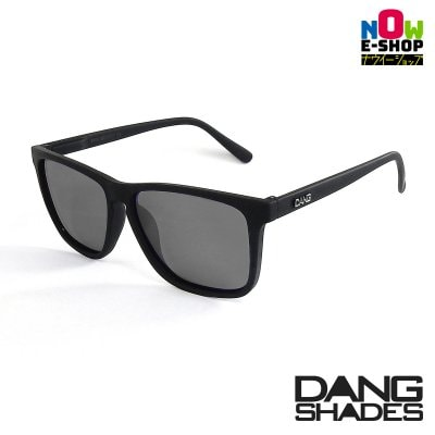新作!!DANG SHADESサングラス!「RECOIL」 Black Soft x Black Smoke Polarized