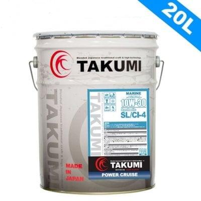 マリンオイル 20L ペール缶 10W-30 化学合成油HIVI TAKUMIモーターオイ...
