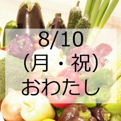 """8/10お渡し【5品おまかせパック】""""長沼町の朝採り野菜""""をお渡しします。"""