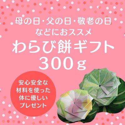 わらび餅専門店ユニコーンカフェのわらび餅ギフト300g
