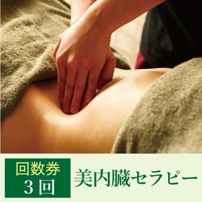 【回数券チケット3回】美内臓セラピー(ダイエット)