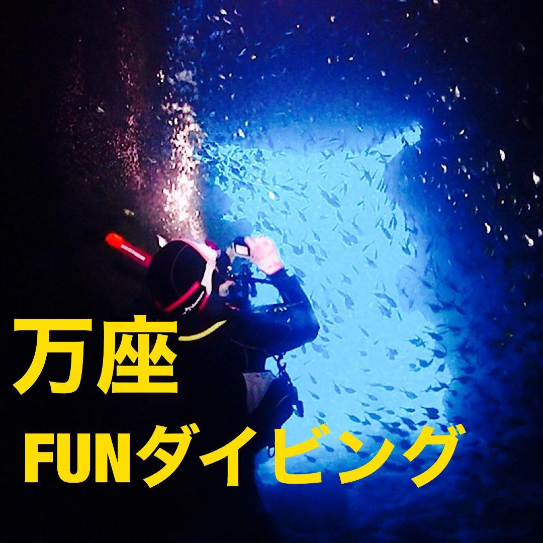 ダイヤモンド会員様専用沖縄本島FUNダイビング 万座エリア(中部方面)のイメージその1