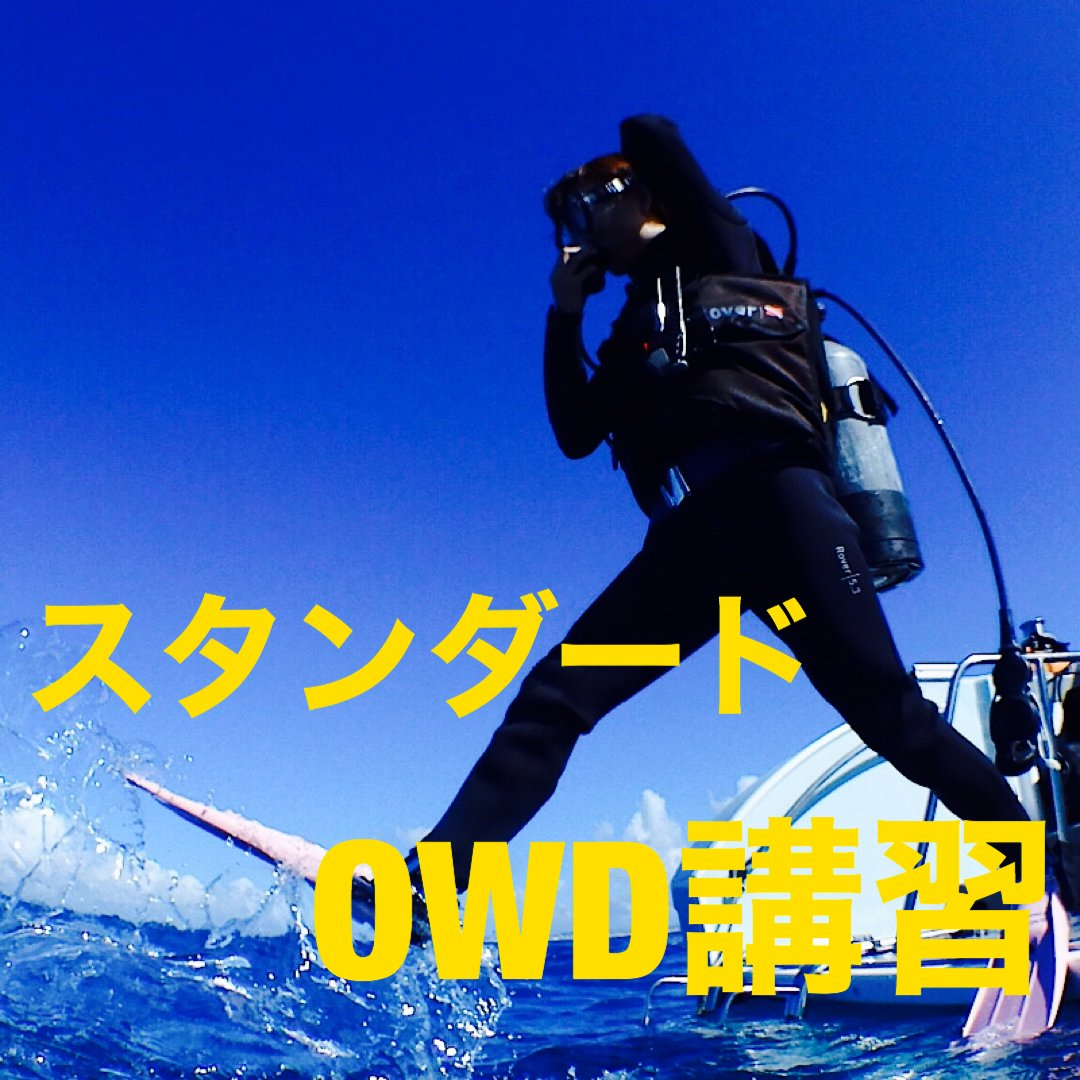 オープンウォーター講習(OWD)のイメージその1