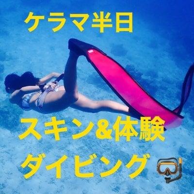 ケラマ半日スキンダイビング&体験ダイビング