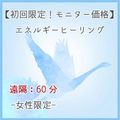 【初回限定モニター12/20迄】エネルギーヒーリング女性限定遠隔60分/完全予約制