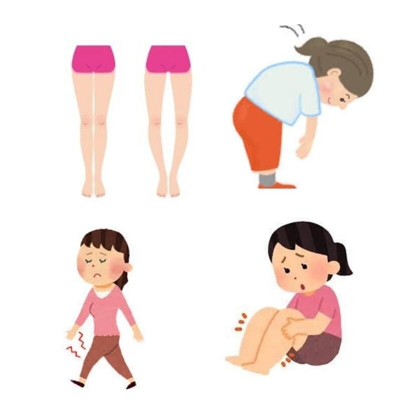 アロマ膝ケアで健康美脚♪膝痛・冷え・むくみ・O脚やX脚・美脚効果も♪楢林式メソッド・60分5000円のイメージその3