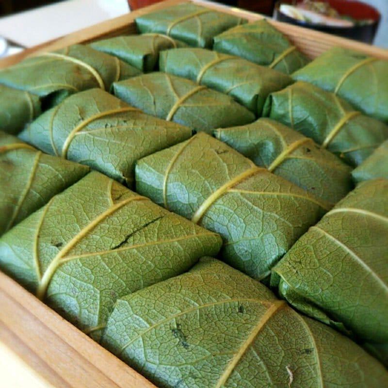 【完売致しました】柿の葉寿司を楽しく作って美味しく食べよう!!1日体験教室!!ランチ付きワークショップのイメージその3