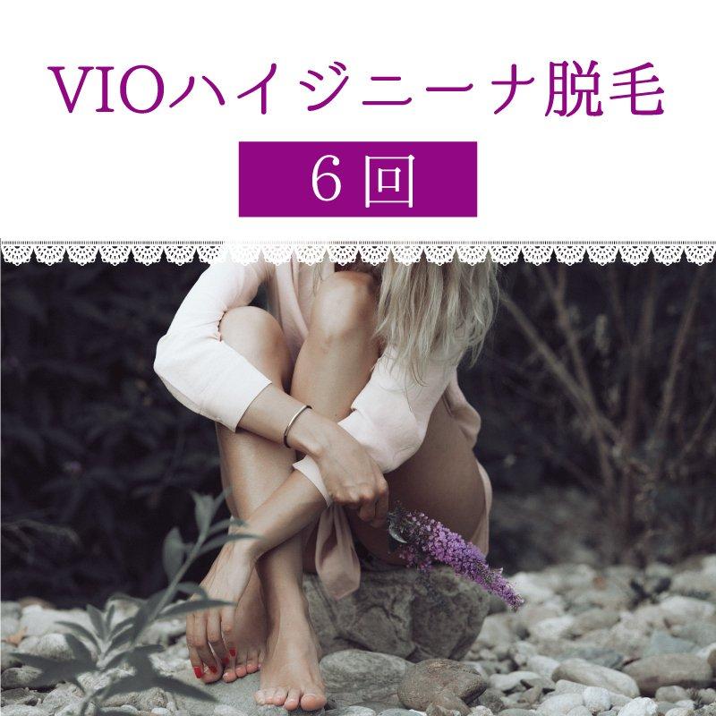 【6回チケット】VIOハイジニーナ脱毛のイメージその1