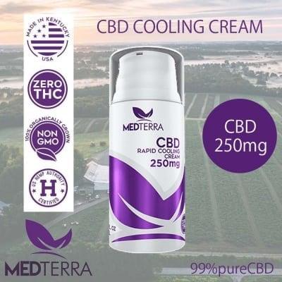 CBDクリーム 250mg|THC0% 厚生労働省承認済み メディテラ製 ご注文後1週間以内出荷