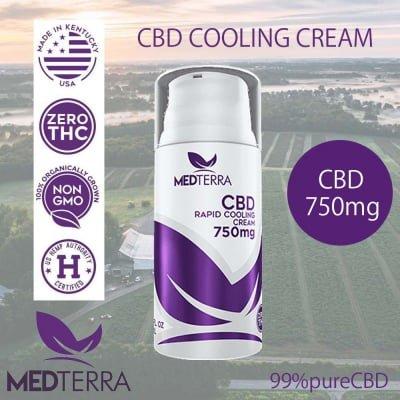 CBDクリーム 750mg THC0% 厚生労働省承認済み メディティラ製 ご注文後1週間以内出荷
