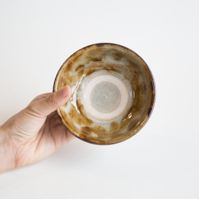 4寸鉢 飴唐草