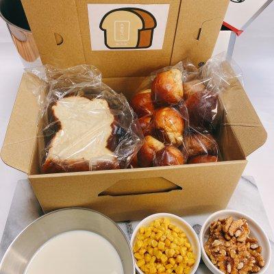 大豆な食パン 1斤/大豆なコーン丸パン 8個/大豆なくるみ丸パン 8個