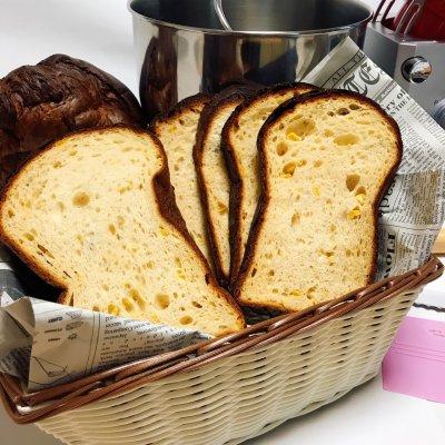 大豆なコーン食パン  / 2斤