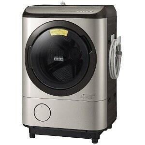 【送料無料】《ドラム式》日立 BD-NX120EL-N ドラム式洗濯機 ステンレスシャンパン (洗濯12.0kg/乾燥6.0kg/左開き)