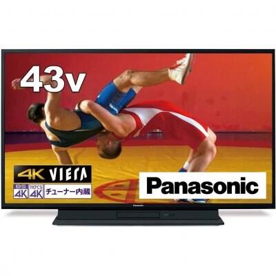 【送料無料】《43インチ》パナソニック TH-43GR770 地上・BS・110度CSデジタルハイビジョン液晶テレビ VIERA(ビエラ)43V型