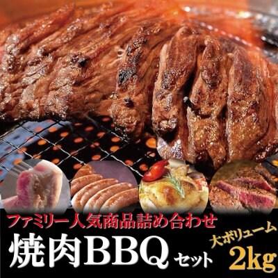 """ファミリー焼肉バーベキューセット 大人気!""""ハラミ400g""""含む 贈答用..."""