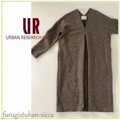 URBAN RESEARCH DOORS アーバンリサーチ/ヘリンボンツイードワンピース...