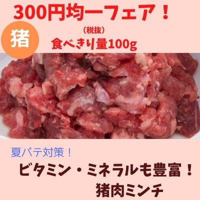 🐶わんこ用300円均一フェア!ビタミン・ミネラルも豊富!猪肉ミンチ(100g)