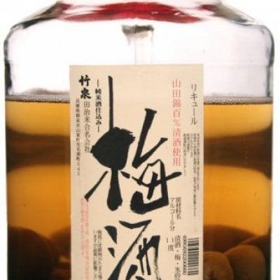 梅酒 純米酒仕込み(広口瓶)木箱 2.7L