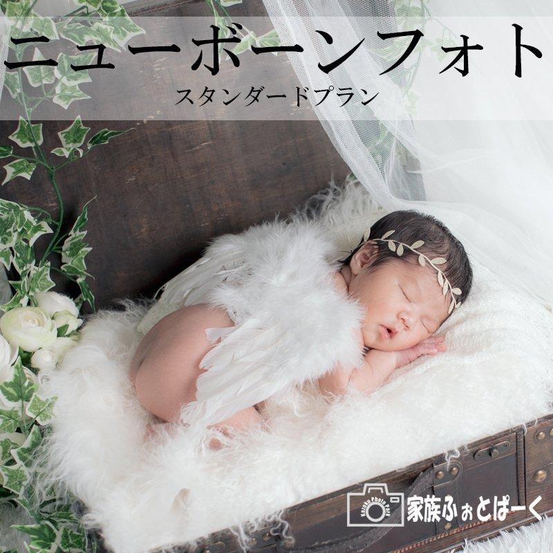 赤ちゃんの撮影〜ニューボーンフォト|スタンダードプランのイメージその1