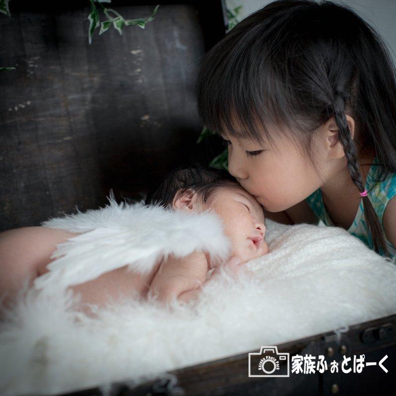 赤ちゃんの撮影〜ニューボーンフォト|ファミリープランのイメージその3