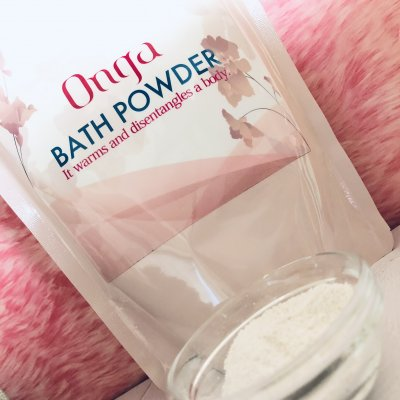 Onga(温雅)バスパウダー / ご家庭でラドン浴を!入浴剤 180g