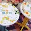 7月19日 13:30〜 DIY【貼って塗って固めて完成!自分でデザインして作るタイルテーブル】