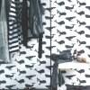 【壁紙一本分粉のり付き】【2色】ドイツ製 貼って剥がせる輸入壁紙 rasch クロス クジラ