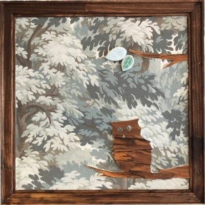 『お家でDIYをやろう!!』フクロウの切絵×インテリアパネル 製作セット