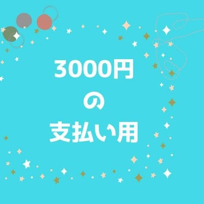 3000円券