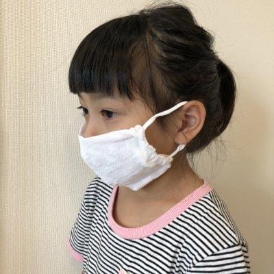【送料無料】子供用マスク3枚セット (コットン、ポリエステル素材)