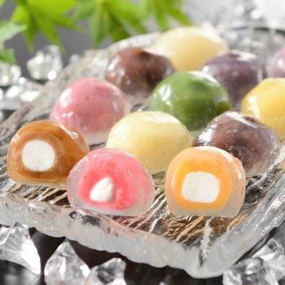 【お中元可能】水まんじゅう クリスタルクリアケーキ 12個セット