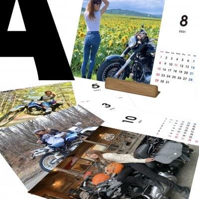 ◇先行特典付き◇【typeA】あおたび!2021卓上カレンダー