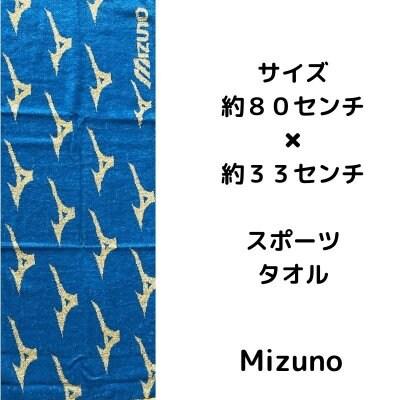 応援企画 Mizuno 青 タオル【郵送専用】