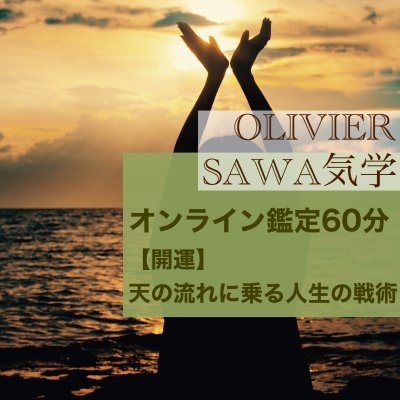 SAWA気学オンライン鑑定60分〜【開運】天の流れに乗る人生の戦術〜