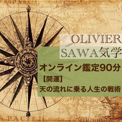 SAWA気学オンライン鑑定90分〜【開運】天の流れに乗る人生の戦術〜