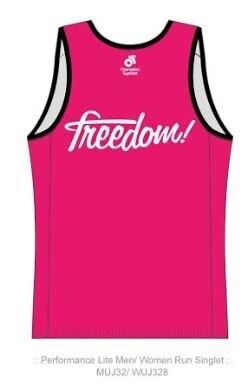[男性用]【Freedom Pro オリジナル 限定受注生産】   Apex Men's  ランニングシャツ:タンクトップ