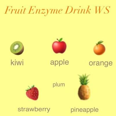 [初回用]フルーツ酵素ドリンクワークショップ