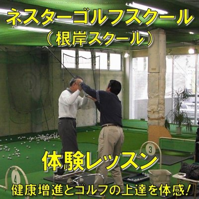 ネスターゴルフスクール体験レッスンチケット/神奈川県横浜市中区根岸のインドアゴルフスクール