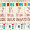 【託児】5時間チケット100枚+10枚セット【古河市】