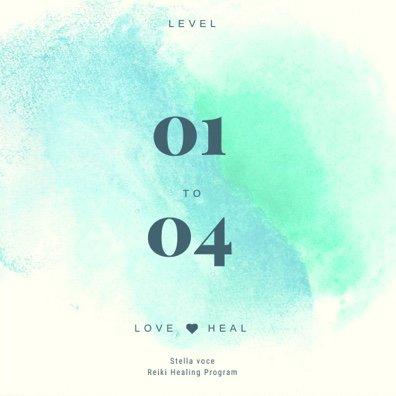 Reiki (レイキ)ヒーリング講座 Level 1~4/ Stella Voce
