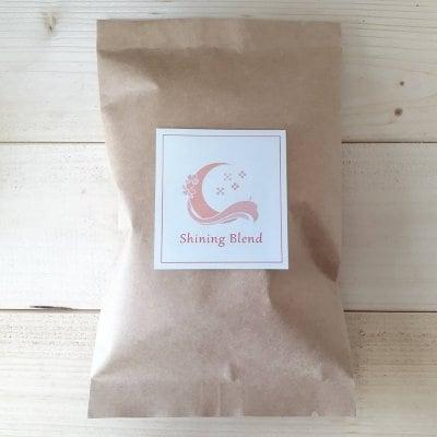 スタジオお渡し、現地払い限定『Yoga house Ohana』オリジナルデザイン オリジナル焙煎珈琲 shining blend 豆or粉100g 1袋