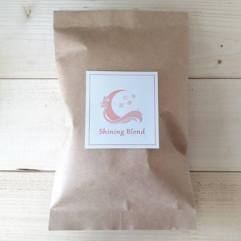 スタジオお渡し、現地払い限定『Yoga house Ohana』オリジナルデザイン オリジナル焙煎珈琲 shining blend 豆or粉100g 1袋のイメージその1
