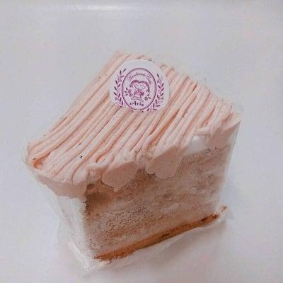 モンブランシフォンケーキ