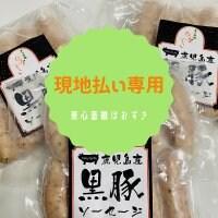 【現地払い専用】鹿児島県産黒豚ソーセージ1袋10本入り