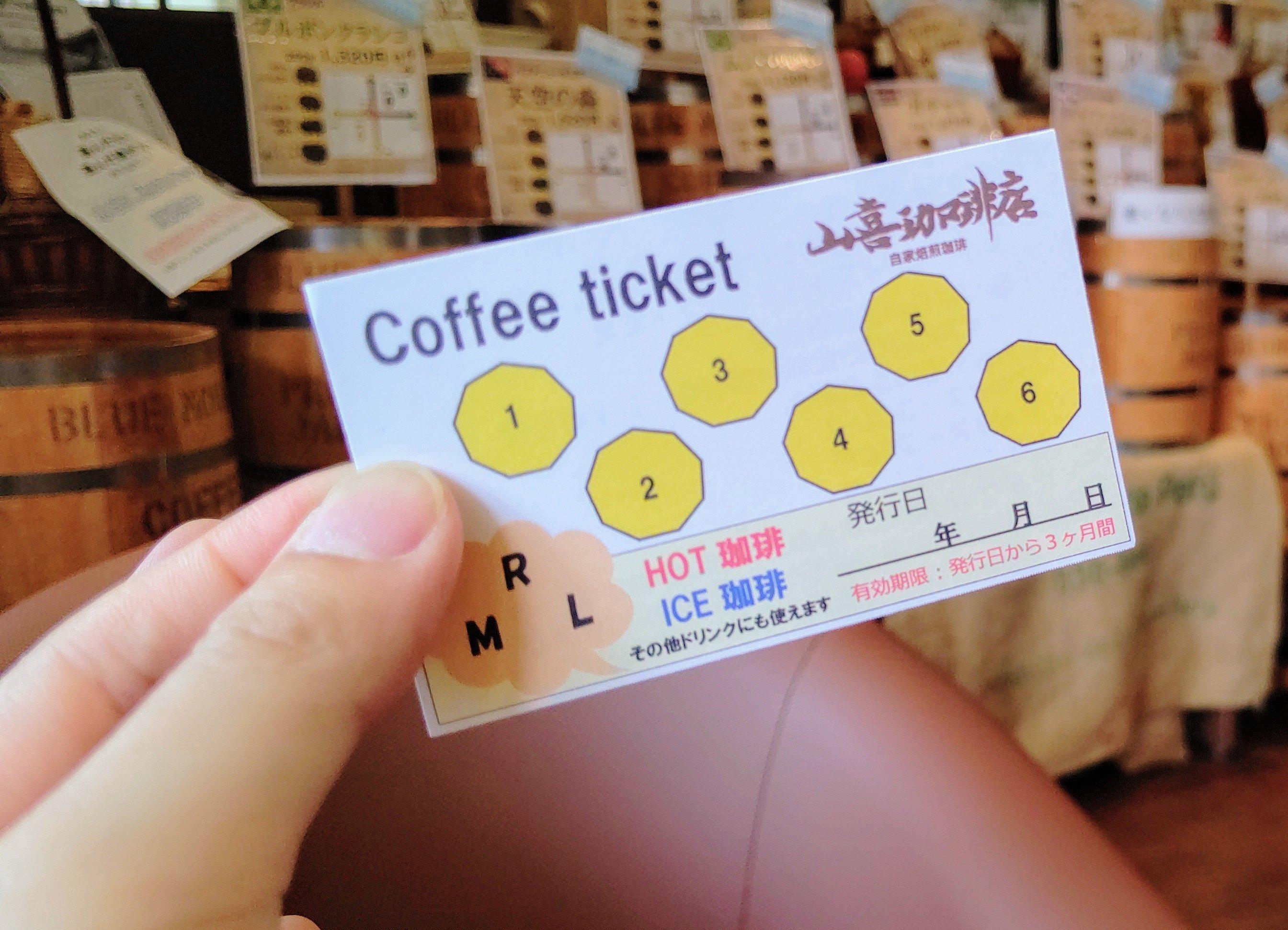 お得な珈琲チケット【Rサイズ ハンドドリップ珈琲6回分】のイメージその2