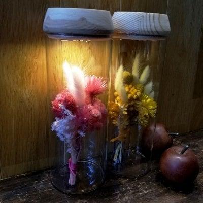 【lamp of hope】LED ガラスベース