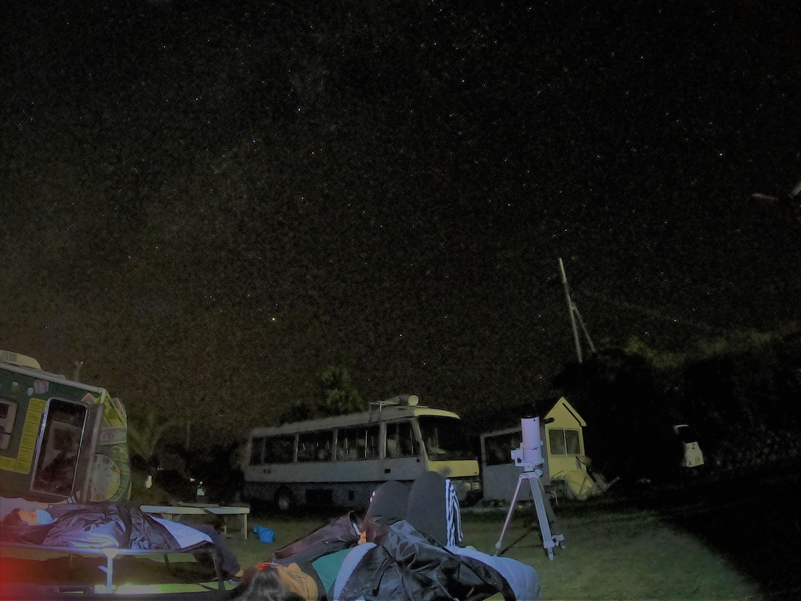 夜空の見楽ツアー 星空!お月見!のイメージその2