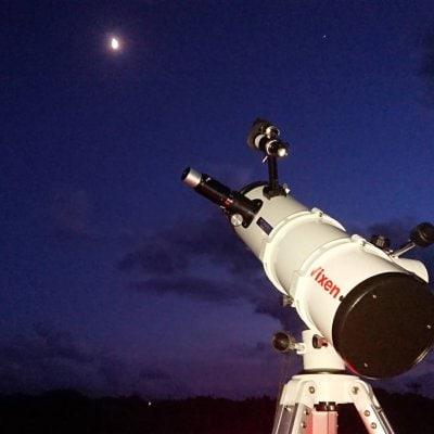 夜空の見楽ツアー 星空!お月見!